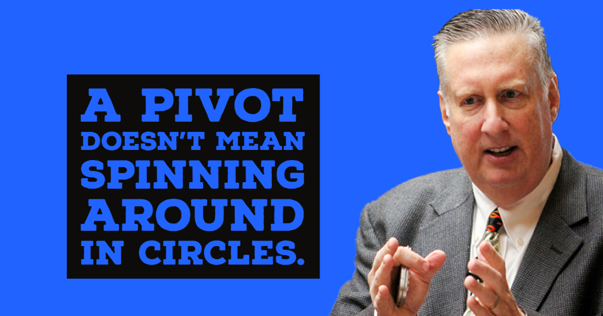 A Pivot doesn't mean Spinning Around in Circles